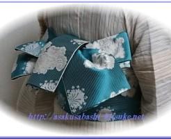 浴衣創作半幅帯蝶結び1-3
